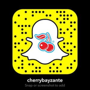 CherryBay snapchat screenshot