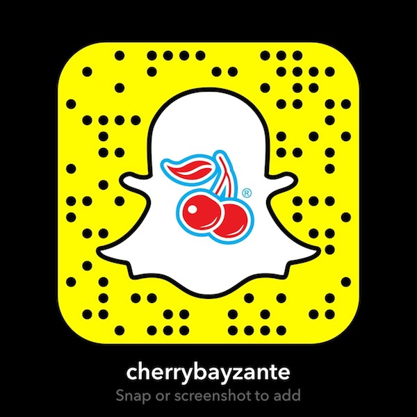 CherryBay snapchat screenshot