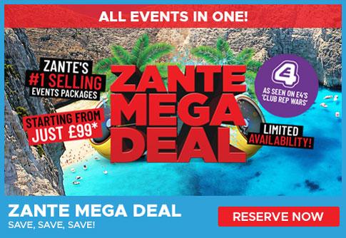 Zante Mega Deal
