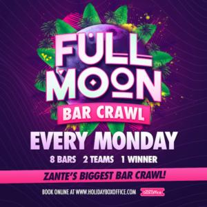 Full Moon Bar Crawl